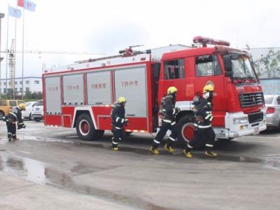 聚力防静电公司顺利举行消防安全演练