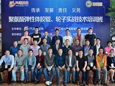 热烈庆祝聚力防静电技术在聚氨酯培训中获奖