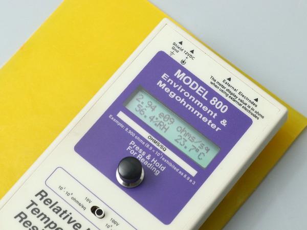 防静电材质电阻是多少?